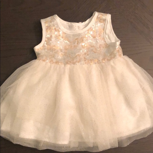 The Children's Place Other - 3-6M Shiny sleeveless dress